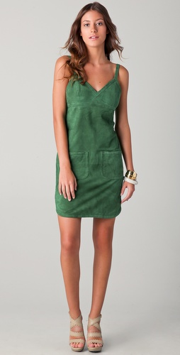 See by Chloe Suede Dress with Apron Back