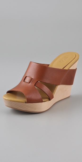 See by Chloe Wooden Wedge Slides