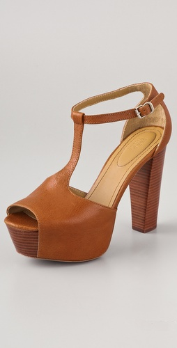 See by Chloe T Strap Platform Sandals
