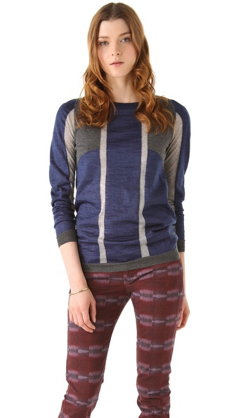 See by Chloe Colorblock Sweater