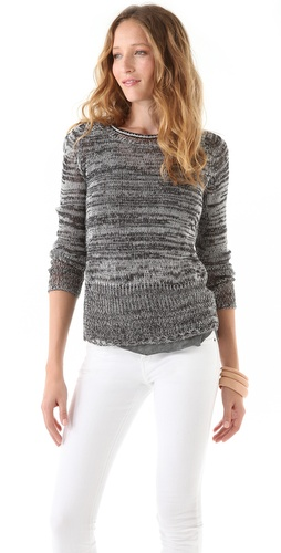 See by Chloe Open Weave Sweater