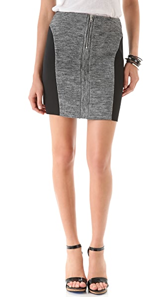 See by Chloe Zip Front Skirt