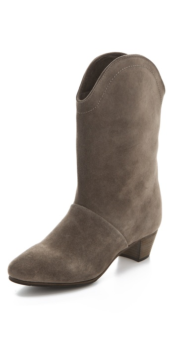 See by Chloe Low Heel Mid Calf Boots