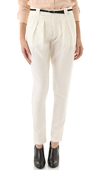 See by Chloe Low Slung Pleated Pants