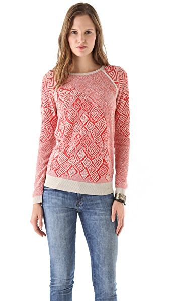 See by Chloe Jacquard Pullover