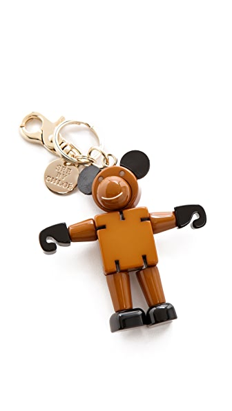 See by Chloe Monkey Business Keychain