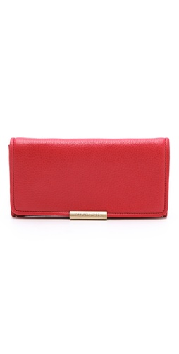 Shop See by Chloe Cherry Flap Wallet and See by Chloe online - Accessories,Womens,SLGs,Wallets, online Store
