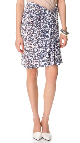 See by Chloe Blossom Print Skirt