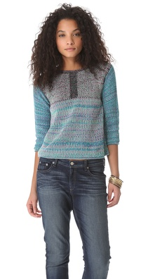 See by Chloe Front Seam Sweater