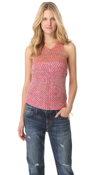 See by Chloe Racer Back Knit Tank