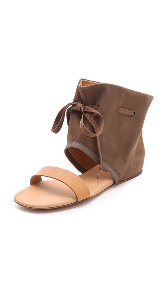 See by Chloe Cuffed Flat Sandals