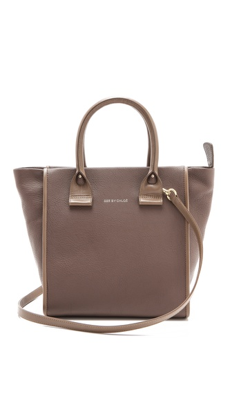 See by Chloe April Small Zipped Tote from shopbop.com