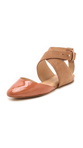 See by Chloe Crisscross Strap Flats