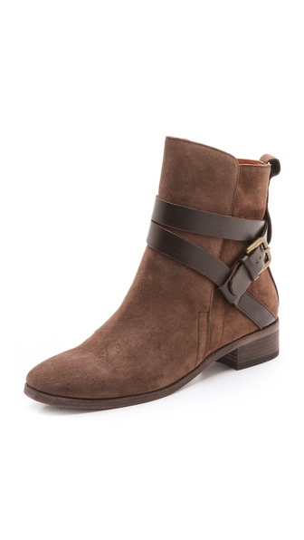 See by Chloe Buckle Strap Booties