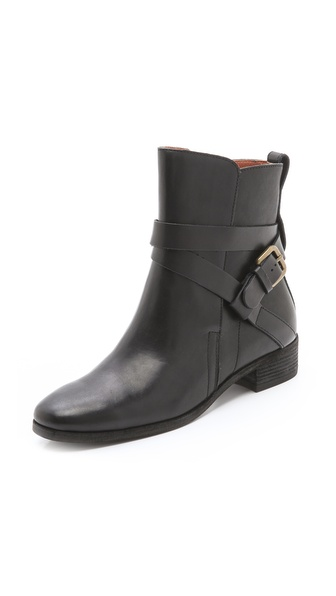 See by Chloe Buckled Strap Booties from shopbop.com