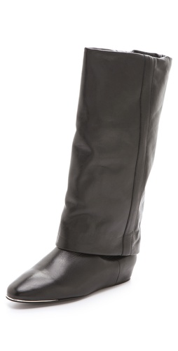 See by Chloe Flat Cuff Boots