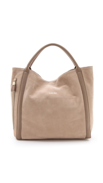 See by Chloe Nubuck Hobo Bag