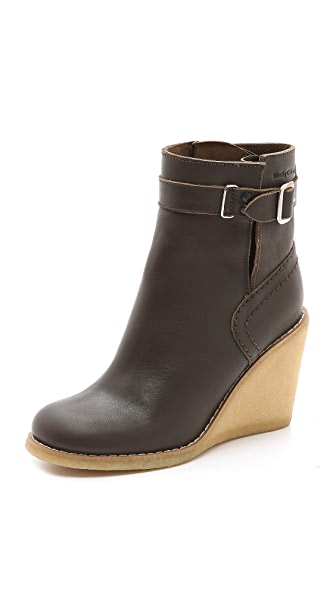 See by Chloe Wedge Heel Booties