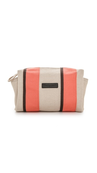 See by Chloe Plum Zipped Cosmetic Pouch