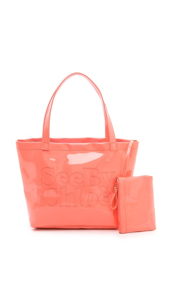 See by Chloe Zip File Medium Tote