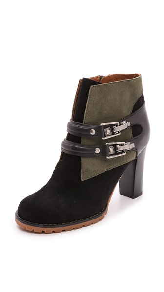 See by Chloe Double Strap Booties