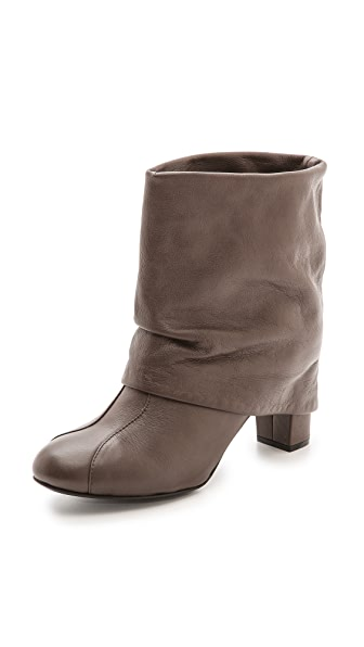 See by Chloe Cuffed Mid Heel Booties
