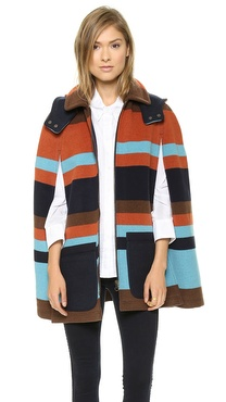 See by Chloe Double Pocket Cape