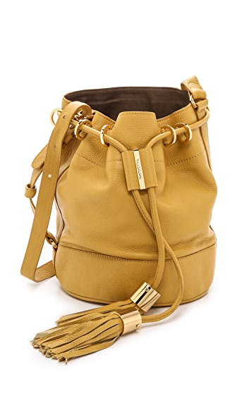 See By Chloe See By Chloe Vicki Small Bucket Bag With Cross Body Strap (Green)