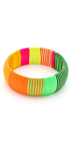 Sequence Individual Threaded Bangle