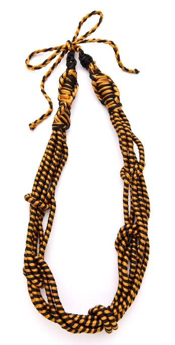 Sequence Industria Knots Necklace