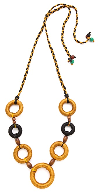 Sequence Industria Ring Necklace