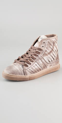Serafini J. Legend Lace Up Slotted Sneakers