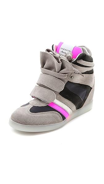 Serafini Manhattan Wedge Sneakers