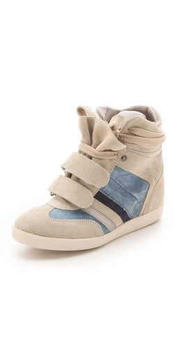 Shop Serafini Manhattan Wedge Sneakers with Denim - Serafini online - Footwear,Womens,Footwear,Sneakers, at Lilychic Australian Clothes Online Store