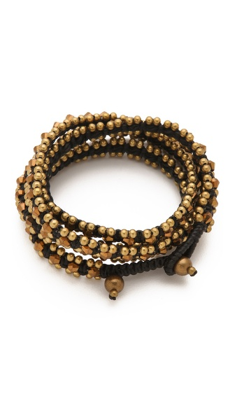 serefina Triple Wrap Crystal Bracelet