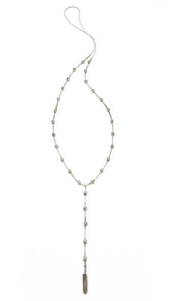 serefina Spike Chain Rosary Necklace