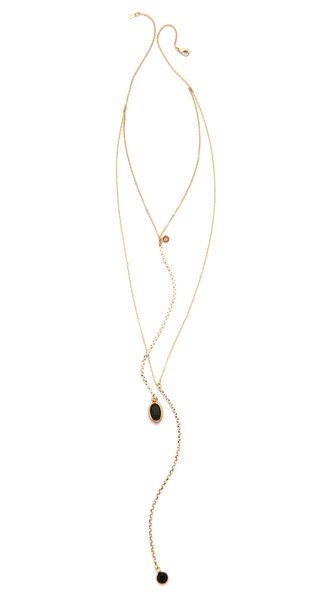 serefina Delicate Vintage Channels Necklace