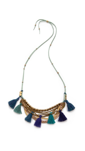 serefina Tassel Necklace