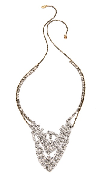 serefina Crystal Encrusted Necklace
