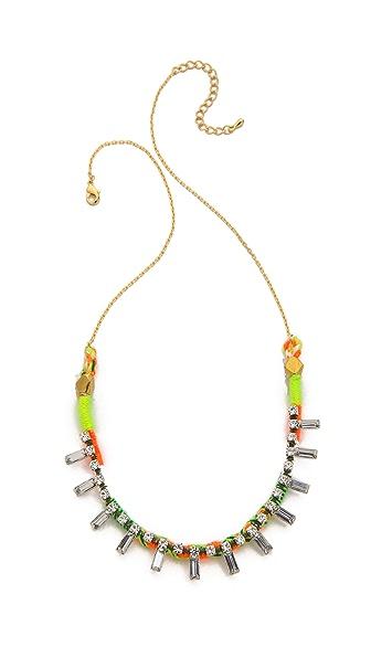 serefina Neon Crystal Necklace