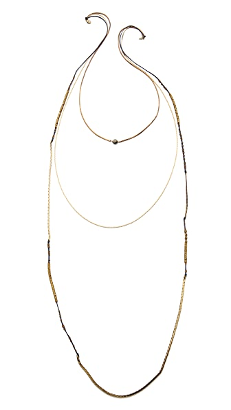 serefina Triple Layer Necklace