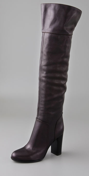Sergio Rossi Chelsea Over the Knee Boots