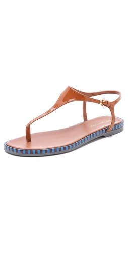 Shop Sergio Rossi Rubber Thong Sandals and Sergio Rossi online - Footwear,Womens,Footwear,Sandals, online Store
