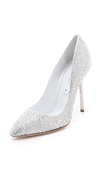 Sergio Rossi Sergio Rossi All Over Strass Pumps (Transperant)