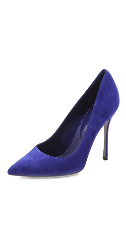 Sergio Rossi Suede Pumps at Shopbop / East Dane