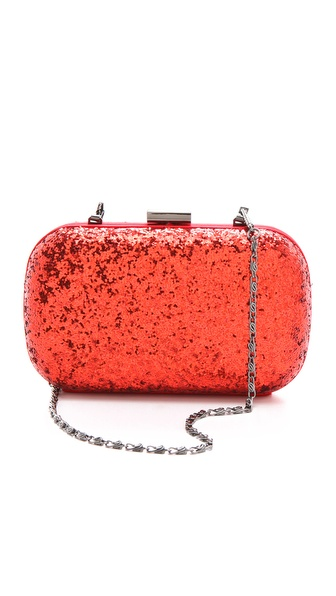 Serpui Marie Limelight Glitter Minaudiere