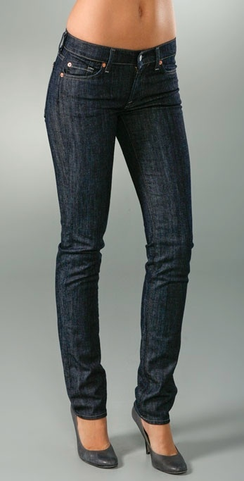7 For All Mankind Roxanne Skinny Slimmer Jeans
