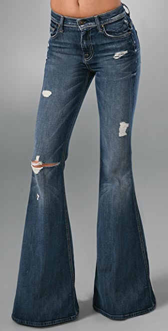 7 For All Mankind Vintage Bell Bottom Jeans