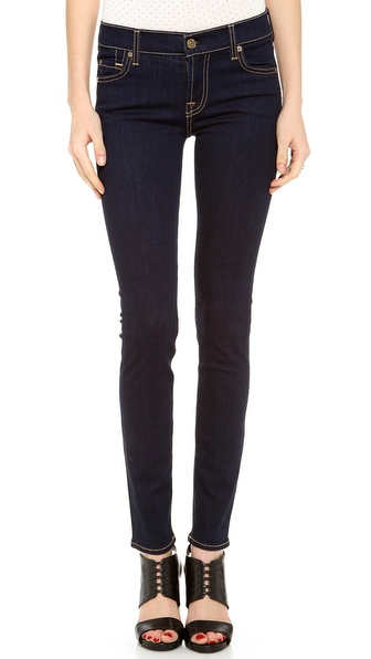 7 For All Mankind The Skinny Jeans - Rinsed Indigo