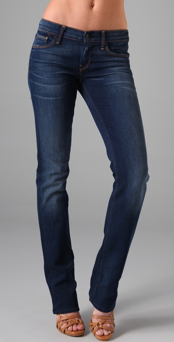 7 For All Mankind Classic Straight Leg Jeans